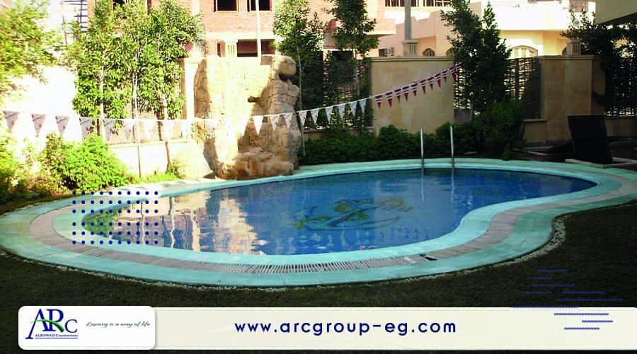 شركات تصميم حمامات السباحة فى مصر